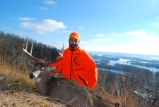 Terry shot this great buck while hunting with Rutting Ridge Outfitters.  Great buck Terry...