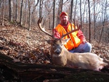 Jarrad's Trophy Whitetail Shot in Buffalo Co WI