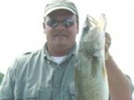 Rick Bryson, Lake Pepin Walleye Fishing, Guide