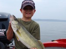 Lake Pepin Walleye Fishing