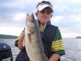 Austin's 7lb Lake Pepin Walleye