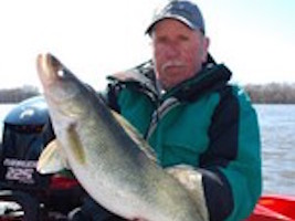 Dave Konkels Big Walleye